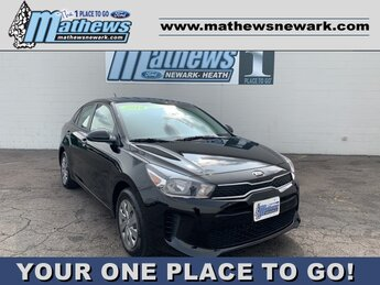 2019 Aurora Black Kia Rio LX Sedan 4 Door 1.6 L 4-Cylinder Engine