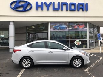 2021 Olympus Silver Hyundai Accent SEL 1.6L DOHC Engine Car 4 Door FWD Automatic