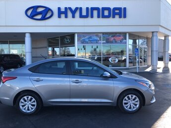 2021 Forge Gray Hyundai Accent SE Automatic Car FWD 1.6L DOHC Engine