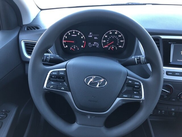 2021 Forge Gray Hyundai Accent SE FWD 4 Door 1.6L DOHC Engine Automatic