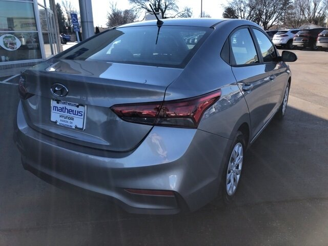 2021 Forge Gray Hyundai Accent SE Car FWD 1.6L DOHC Engine 4 Door