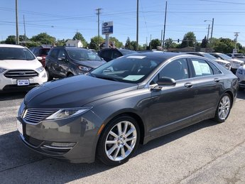 2016 Magnetic Metallic Lincoln MKZ Hybrid Sedan 2.0L IVCT Atkinson I-4 Engine 4 Door FWD Automatic