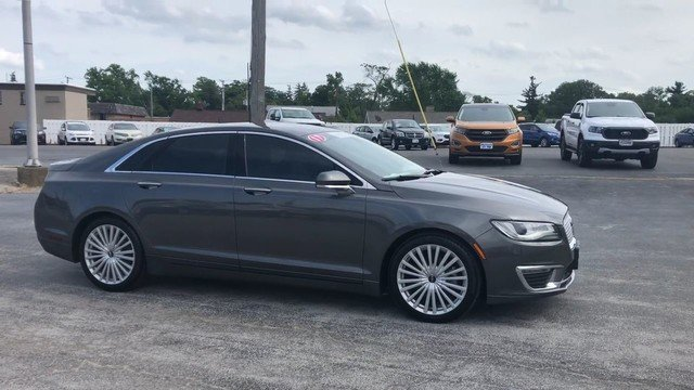 2017 Magnetic Gray Metallic Lincoln MKZ Reserve Sedan FWD Automatic 2.0L Gtdi I-4 Engine 4 Door