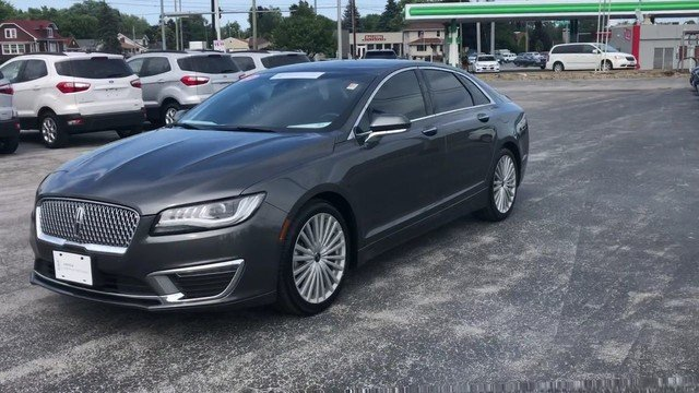 2017 Magnetic Gray Metallic Lincoln MKZ Reserve FWD Automatic Sedan 2.0L Gtdi I-4 Engine 4 Door