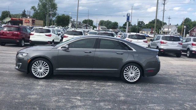 2017 Magnetic Gray Metallic Lincoln MKZ Reserve 2.0L Gtdi I-4 Engine Automatic Sedan FWD 4 Door