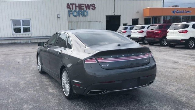 2017 Magnetic Gray Metallic Lincoln MKZ Reserve Sedan FWD 2.0L Gtdi I-4 Engine 4 Door Automatic