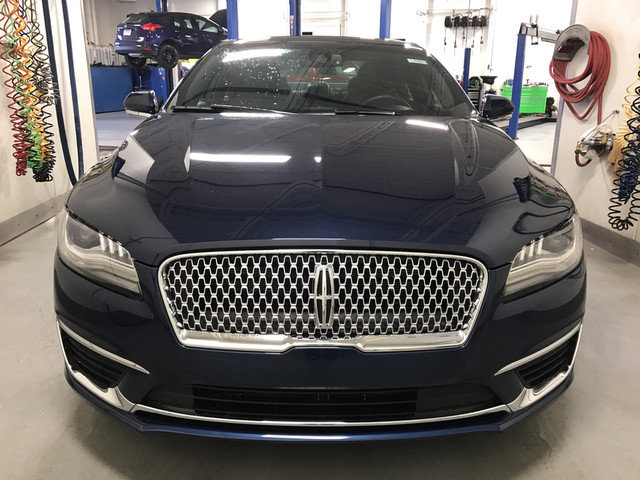 2017 Midnight Sapphire Blue Metallic Lincoln MKZ Reserve 4 Door 3.0L V6 Cylinder Engine Automatic Sedan