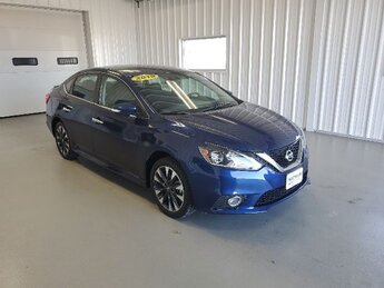 2019 Deep Blue Pearl Nissan Sentra SR Sedan FWD 4 Door Automatic