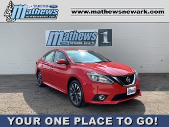 2019 Red Alert Nissan Sentra SR 1.8 L 4-Cylinder Engine 4 Door Automatic (CVT) FWD