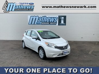 2014 Aspen White Pearl Nissan Versa Note 5dr HB 1.6 FWD 4 Door Hatchback Automatic 1.6 L 4-Cylinder Engine