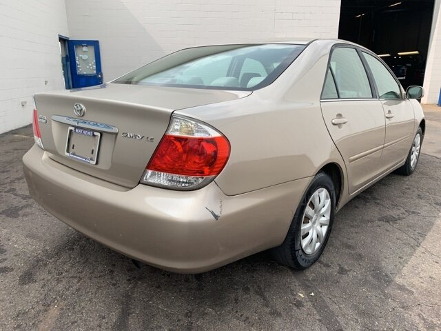 2005 Toyota Camry 4dr Sdn 4 Door FWD 2.4L 4-Cylinder Engine