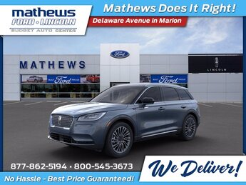 2021 Blue Lincoln Corsair Reserve SUV 2.0L I4 Engine AWD Automatic 4 Door