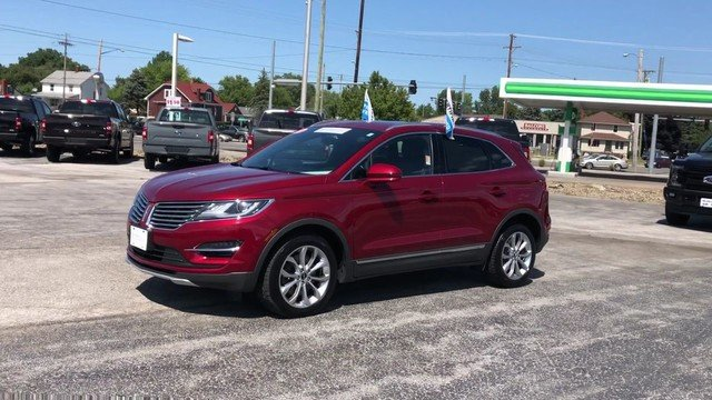 2017 Ruby Red Metallic Tinted Clearcoat Lincoln MKC Select Automatic 4 Door AWD SUV 2.0L 4-Cyl Engine