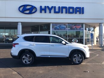2021 Quartz White Hyundai Santa Fe SEL 4 Door 2.5L I4 Engine AWD SUV Automatic