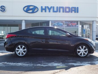 2013 Hyundai Elantra Limited 1.8L 4-Cylinder DOHC 16V Dual CVVT Engine 4 Door Car Automatic FWD