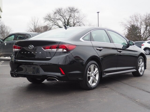 2018 Hyundai Sonata Sport Automatic Car 4 Door FWD