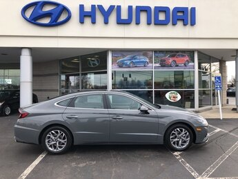 2021 Hampton Gray Hyundai Sonata SEL 4 Door 2.5L I4 Engine Automatic