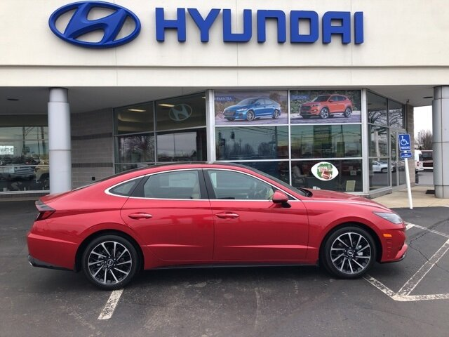 2021 Hyundai Sonata Limited 4 Door FWD 1.6L I4 Engine Automatic Car