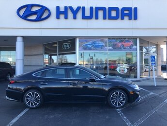 2021 Phantom Black Hyundai Sonata Limited 1.6L I4 Engine FWD Automatic 4 Door