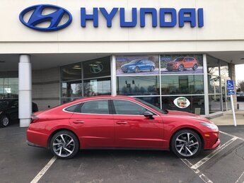2021 Calypso Red Hyundai Sonata SEL Plus Automatic 1.6L I4 Engine FWD