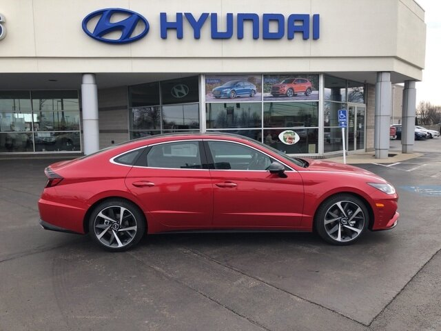 2021 Hyundai Sonata SEL Plus 4 Door I4 Engine Automatic FWD