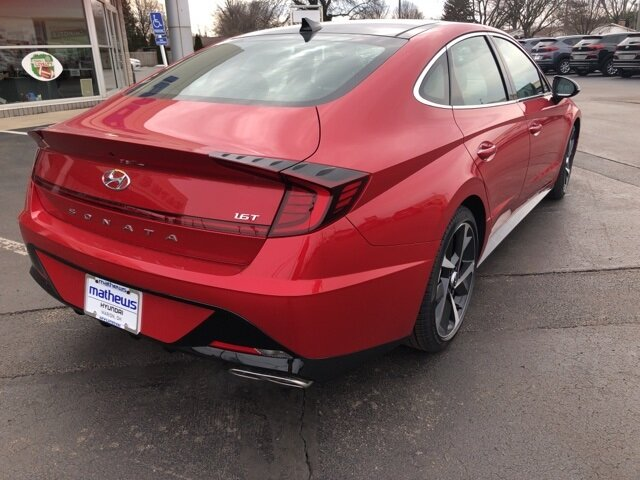 2021 Hyundai Sonata SEL Plus 4 Door Car I4 Engine Automatic FWD