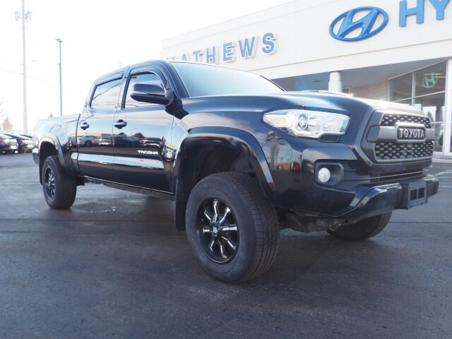 2016 Black Toyota Tacoma TRD Sport V6 Engine 4 Door Truck Automatic
