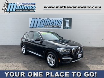 2020 BLACK BMW X3 xDrive30i 2.0 L 4-Cylinder Engine AWD SUV 4 Door