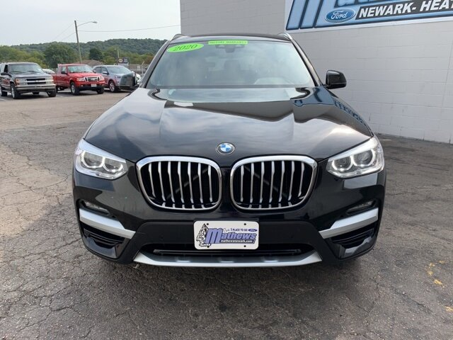 2020 BLACK BMW X3 xDrive30i 2.0 L 4-Cylinder Engine 4 Door AWD Automatic