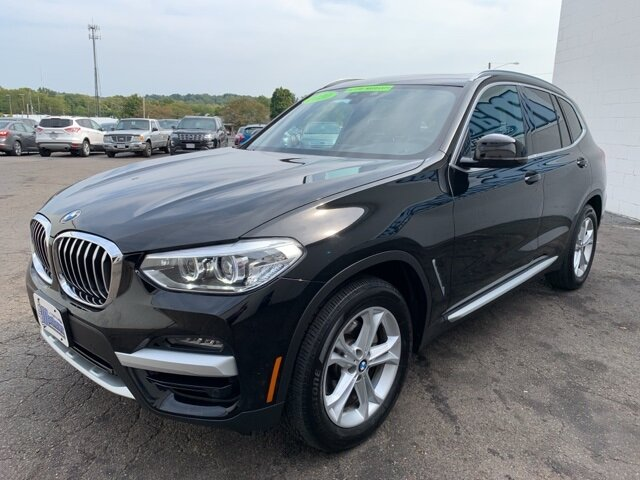 2020 BLACK BMW X3 xDrive30i 4 Door AWD 2.0 L 4-Cylinder Engine SUV Automatic