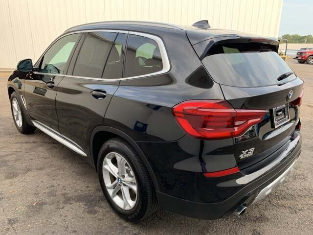 2020 BLACK BMW X3 xDrive30i 2.0 L 4-Cylinder Engine Automatic 4 Door AWD
