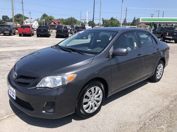 2012 Magnetic Gray Metallic Toyota Corolla LE 1.8L DOHC SFI 16-Valve VVT-i I4 Engine Car FWD Automatic