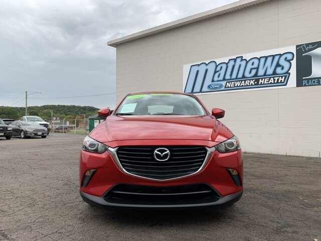 2017 Soul Red Metallic Mazda CX-3 Sport SUV 2.0 L 4-Cylinder Engine Automatic