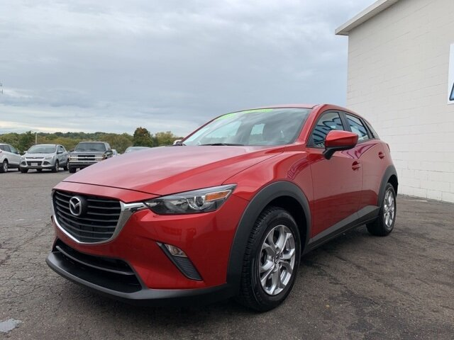 2017 Soul Red Metallic Mazda CX-3 Sport 2.0 L 4-Cylinder Engine Automatic SUV