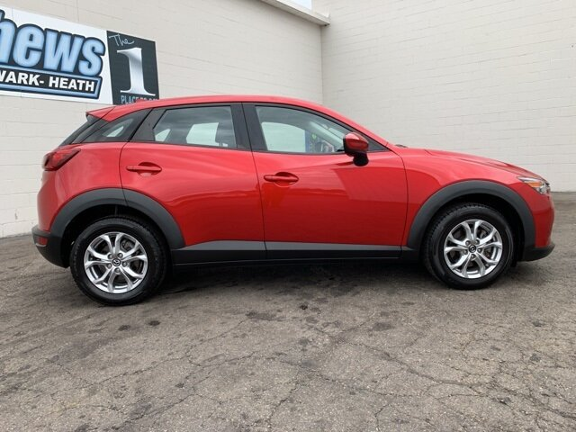 2017 Soul Red Metallic Mazda CX-3 Sport Automatic SUV AWD 4 Door 2.0 L 4-Cylinder Engine