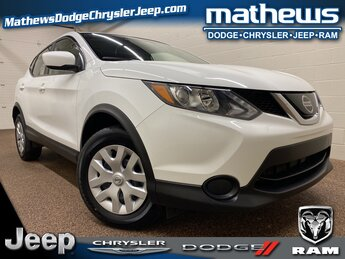 2019 Nissan Rogue Sport S 4 Door 2.0L DOHC Engine AWD SUV