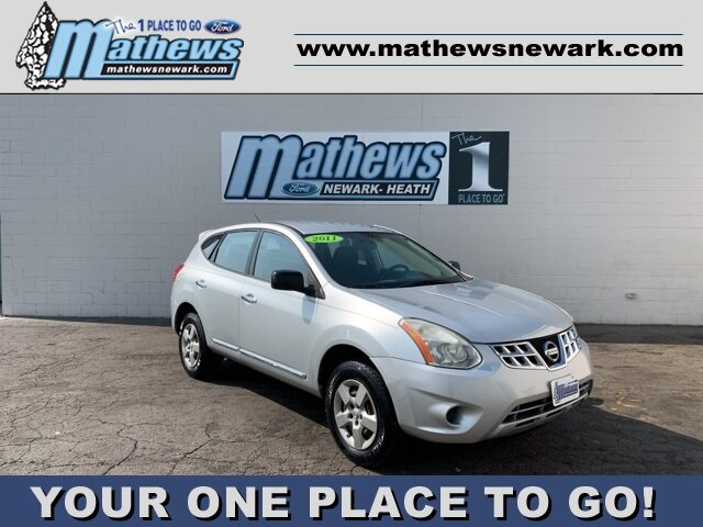 2011 Brilliant Silver Nissan Rogue S AWD 4 Door 2.5L 4-Cylinder Engine