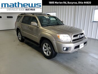 2007 Toyota 4Runner Limited 4X4 Automatic 4 Door SUV 4.7L DOHC SMPI 32-Valve VVT-i V8 Engine