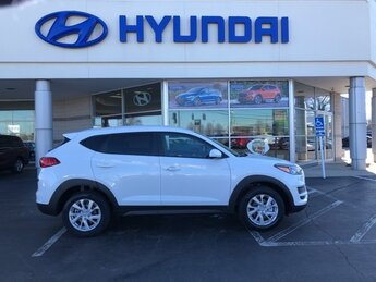 2021 White Cream Hyundai Tucson Value SUV Automatic FWD 4 Door I4 Engine