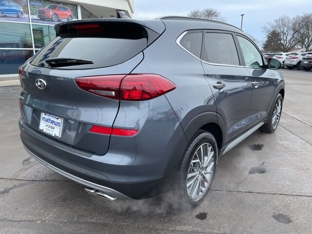 2021 Hyundai Tucson Ultimate 2.4L I4 DGI DOHC 16V Engine FWD Automatic 4 Door
