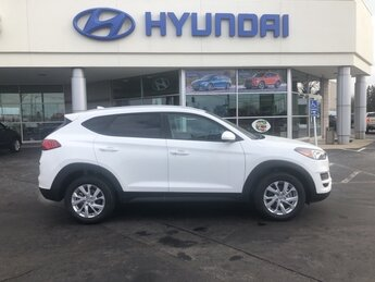 2021 Winter White Hyundai Tucson Value SUV 4 Door I4 Engine