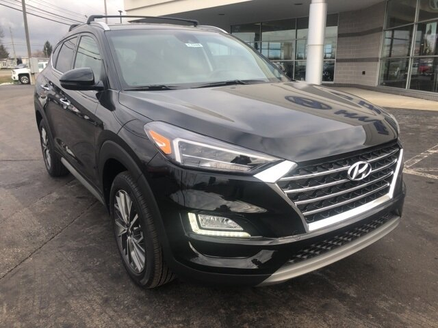 2021 Black Noir Pearl Hyundai Tucson Limited 2.4L I4 DGI DOHC 16V Engine Automatic SUV 4 Door AWD