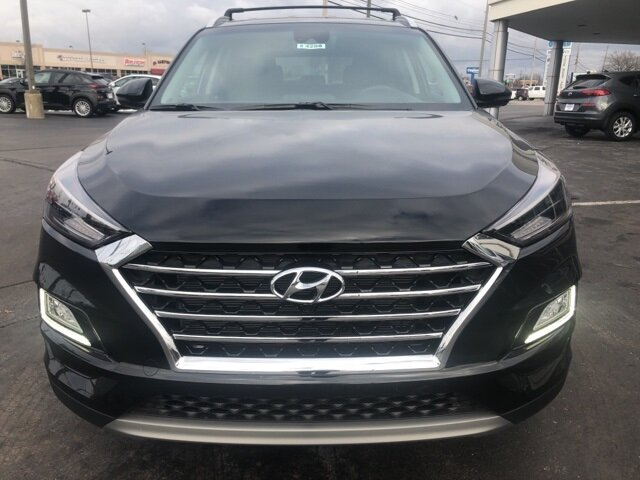 2021 Black Noir Pearl Hyundai Tucson Limited 2.4L I4 DGI DOHC 16V Engine AWD 4 Door SUV Automatic