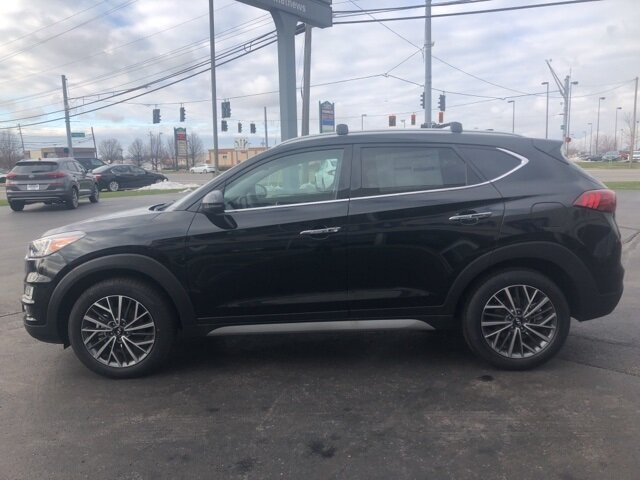 2021 Black Noir Pearl Hyundai Tucson Limited Automatic SUV AWD 2.4L I4 DGI DOHC 16V Engine 4 Door