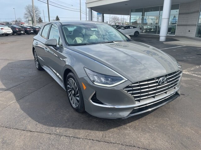2021 Hyundai Sonata Hybrid SEL Automatic 4 Door FWD I4 Engine Car