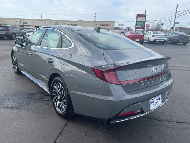 2021 Hampton Gray Hyundai Sonata Hybrid SEL I4 Engine Automatic Car 4 Door FWD