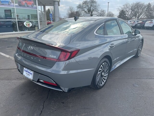 2021 Hyundai Sonata Hybrid SEL 4 Door I4 Engine FWD Automatic Car