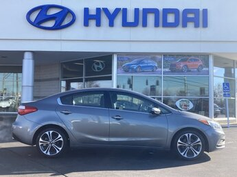 2016 Graphite Steel Metallic Kia Forte EX 2.0L I4 DOHC Dual CVVT Engine 4 Door Automatic