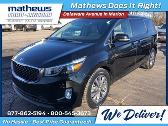 2018 Kia Sedona SX Automatic Van 4 Door 3.3L V6 DGI Engine FWD