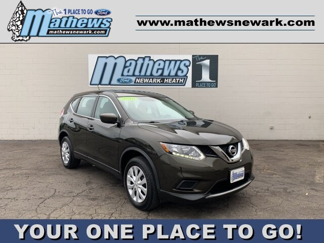 2016 Gray Nissan Rogue AWD 4dr 2.5 L 4-Cylinder Engine Automatic (CVT) 4 Door AWD SUV